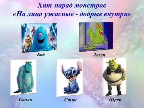 корпорация монстров герои фото имена